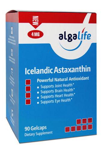 Icelandic Astaxanthin 12mg 60 Capsules