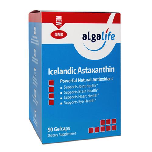 Icelandic Astaxanthin 4mg 90 Gelcaps