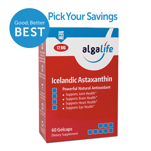 Icelandic Astaxanthin 12 mg 60 Value