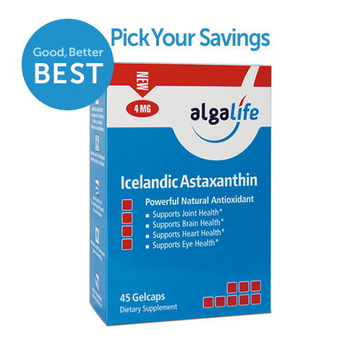Icelandic Astaxanthin 4 mg 45 Value