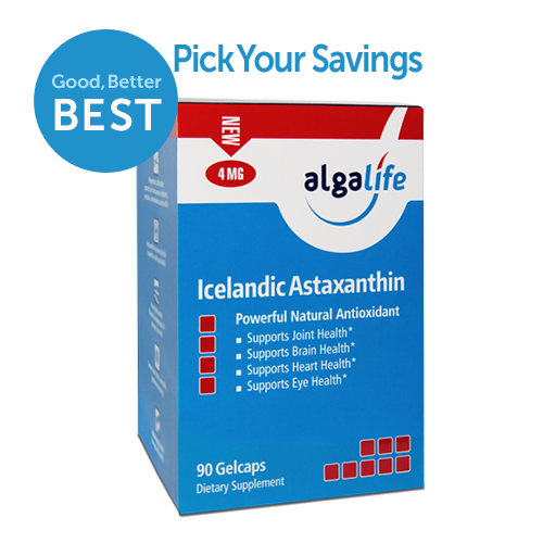 Icelandic Astaxanthin 4 mg 90 Value